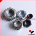 Tornillo / Tuerca hexagonal Tuerca de brida Tuerca de bloqueo de nylon Tuerca de cierre Tuerca larga