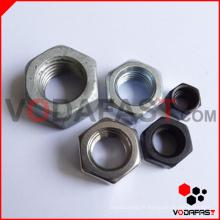 Noix hexagonales (plaine, noire, zinguée, HDG)