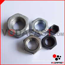 Hexagon Nuts (Plain, Black, Zinc Plated, H. D. G.)