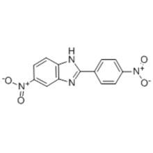 Name: 1H-Benzimidazole,6-nitro-2-(4-nitrophenyl)- CAS 1772-39-0