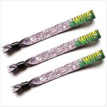 Popular Promotion Sublimation Fabric Wristband (XD-wb-01)
