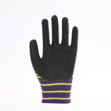 Zebra Pattern Durable PU Work Protective Gloves