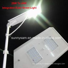 30W tout-en-un sécurité solaire Street-Post-Wall-Garden Light