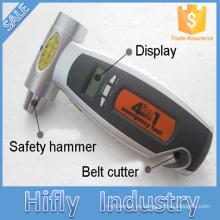 HF-RB02 Calibrador de neumáticos digital de alta presión 4 en 1 de alta presión Calibrador de presión de neumáticos LCD de alta precisión (certificados CE)