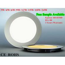 Отличное качество 6w светодиодные панели света