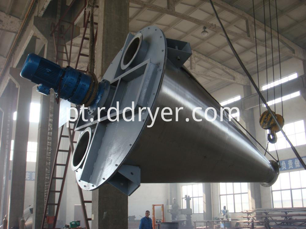 Double Screw Cone Mixing Equipment