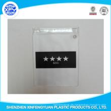 Kundenspezifischer Plastik PVC-Reißverschluss-Beutel