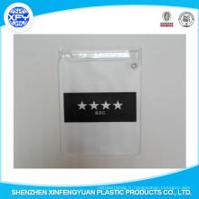 Sac de fermeture à glissière en PVC PVC personnalisé