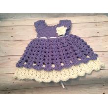 Crochet baby Dress Crochet Clothes for Newborn