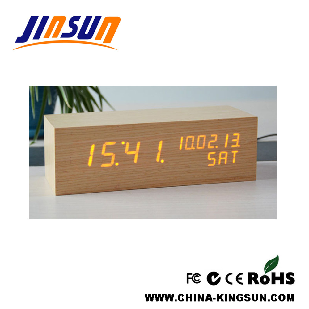 Led Calendar Table Clock