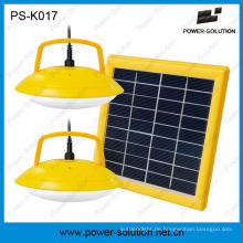 Portable Solar LED Beleuchtung Home System mit Handy-Ladegerät PS-K017
