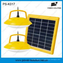 Портативный Солнечная система домашнего освещения СИД с Заряжателем мобильного телефона ПС-K017