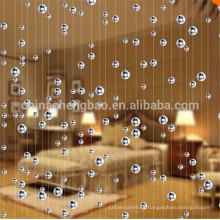 2016 casa decorativa puerta colgante de la cortina de los granos