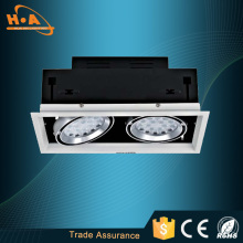 China Two Head COB Ceiling Light LED Grille Lamp
