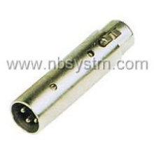 3P Mikrofonstecker zum 3P Mikrofonbuchse Adapter