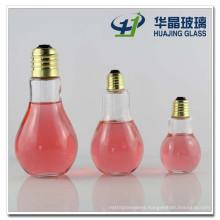 400ml 250ml 100ml Glass Bottle Bulb Shape Glass Bottle