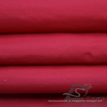 Water & Wind-Resistant Sportswear ao ar livre Down Jacket Tecido Plaid & DOT Jacquard 100% tecido de nylon (NJ034)