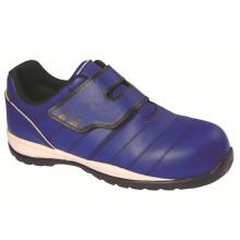 Ufa114 (1) Azul sem sapatos de segurança Metalfree Lace