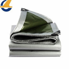 Durable Poly Woven Grey Tarp