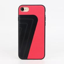 high quality PC & PU leather & Aluminium Alloy & TPU case for iphone 7