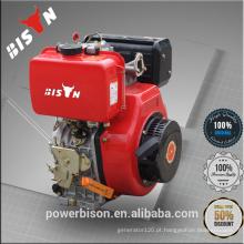 Bison China Motor diesel da fabricação de Zhejiang do poder Motor diesel 10HP de Honda GX390 Motor diesel do cilindro único 186FA