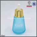 30ml 50ml 30g Mattglas Glas Reise Kosmetik Flasche Set Dropper Flasche