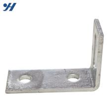 Support d'angle en acier inoxydable à fente de haute qualité