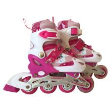 2015 New Design Carton Pink Inline Skate