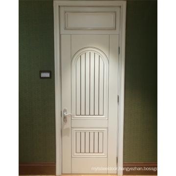 GO-ET01  hot sale door panel melamine wooden molded doors skin solid wood door skin sheet