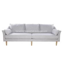Modern Living Room Furniture Linen Antwerp Sofa