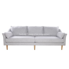 Modern Living Room Furniture Linen Antwerp Sofa