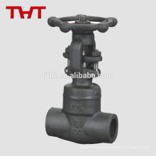 haste não crescente pn 16 dn25 válvula de portão de níquel