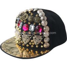 Популярные шипованные шипами заклепки шляпа OEM для уличного танца