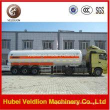 LPG Gas Delivery LPG Tank Sattelauflieger für Nigeria