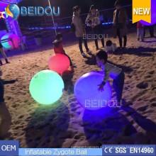 Светодиоды с подсветкой Переполненные воздушные шары Надувные шары с интерактивной игрой Zygote