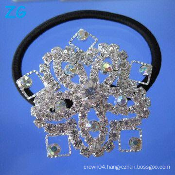 Luxurious AB crystal girls hair band, french hair band, girls hair accessories hair bands