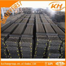 D grado 1 1/8 '' API Barra de succión usada para campo petrolífero