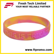 Bracelets de silicone professionnels OEM Silicone