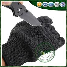 Aramid anti cutting resistant gloves, stainless steel safety cut gloves