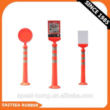 New Product 2014 Traffic LLDPE Assemble Flexible Post Warning Sign