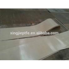 Tissu de ceinture à fuseau avec tissu en fibre de verre revêtu de ptfe