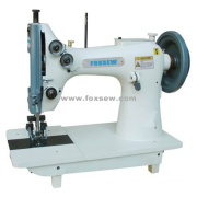Double Needle Moccasin Sewing Machine for Extra Heavy Duty