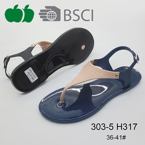 Wholesale Cheap New Fashion Popular Jelly Sandals