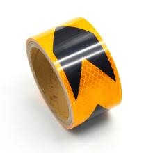 Fita de vinil prismático refletivo de design de grão transversal de veículo