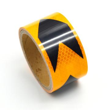 Vehicle Cross Grain Design Reflective Prismatic Vinyl Tape