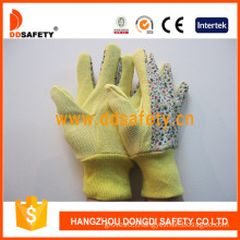 Garden Gloves. Flower Cotton/Polyester Design (DGS303)