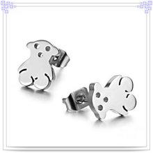 Schmucksache-Art- und Weisezusatz-Edelstahl-Ohrringe (EE0023)