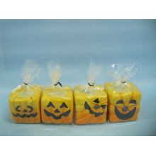 Хэллоуин свеча формы керамических ремесел (LOE2372-B5z)