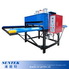 Máquina dobro lateral pneumática de transferência da sublimação da tela dos lados do grande formato