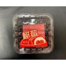 Etiqueta de caja de fruta lavable